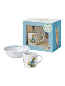 Wedgwood Peter rabbit boys 2-piece set