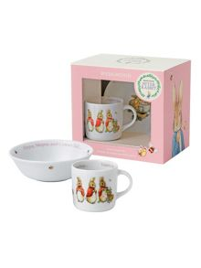 Wedgwood Peter rabbit girls 2-piece set
