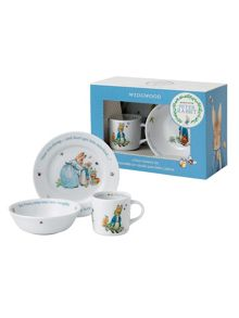 Wedgwood Peter rabbit boys 3-piece set