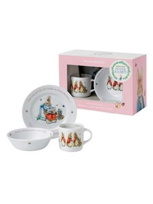 Wedgwood Peter rabbit girls 3-piece set