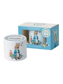 Wedgwood Peter rabbit boys money box