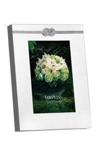 Wedgwood Vera Wang Infinity photo frame, 4x6in