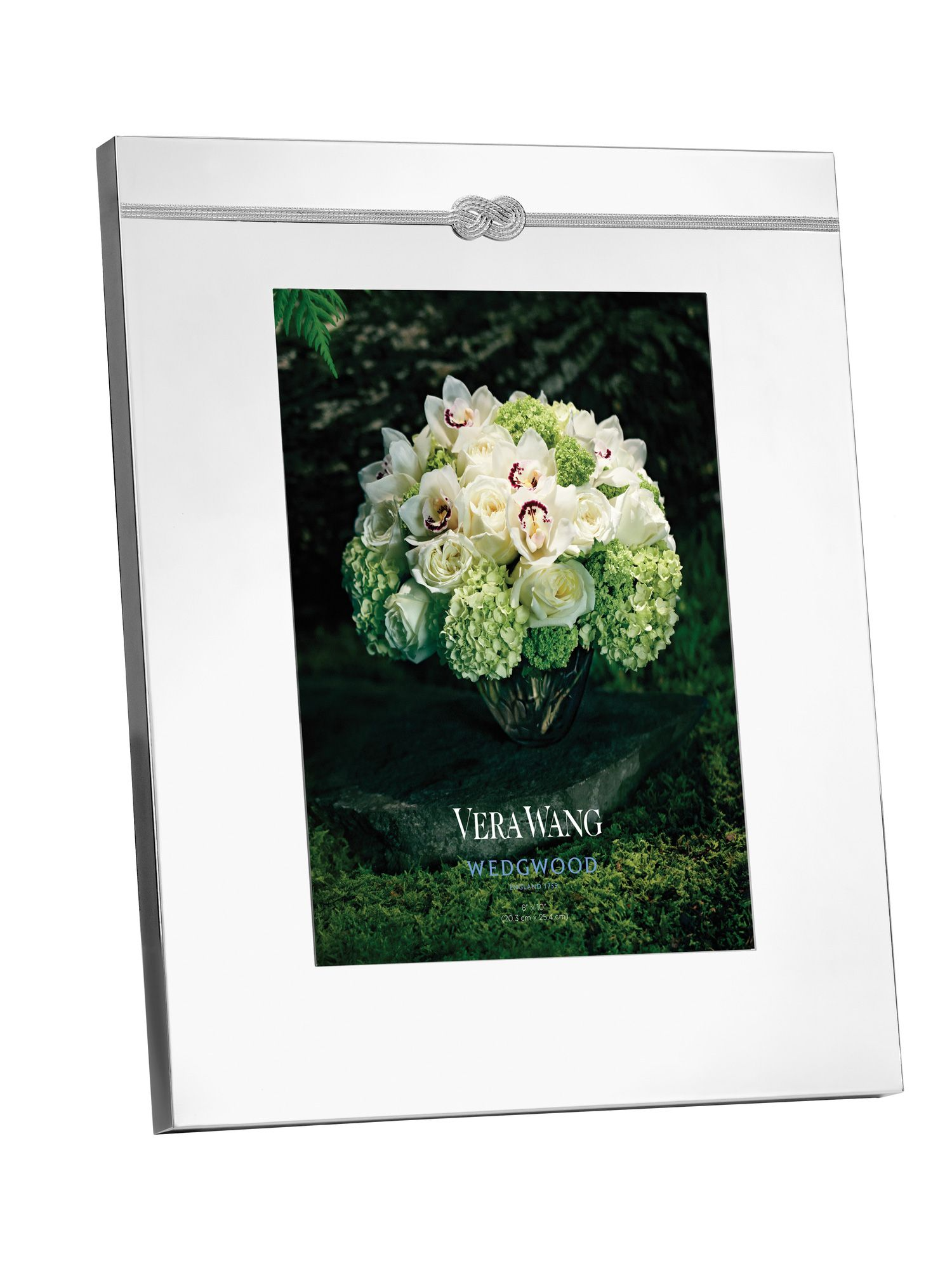 Vera Wang infinity photo frame, 8x10in