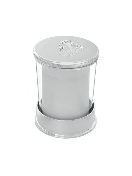 Wedgwood Vera wang infinity covered candle on base lace