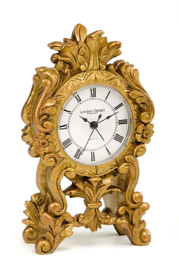 London Clock Baroque gold mantle clock - review, compare prices, buy ...