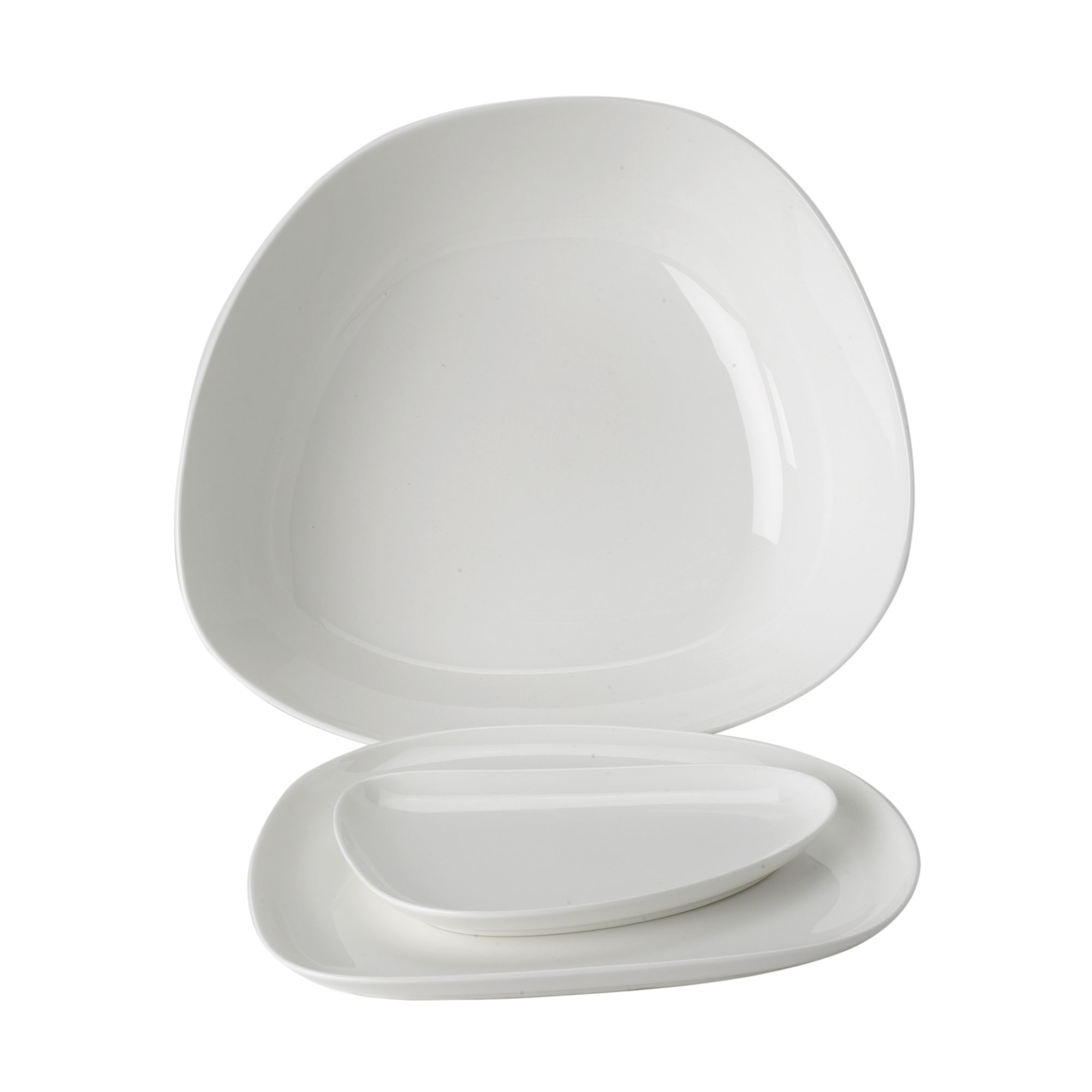 White China medium platter
