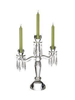 Retro accessories candelabra 3 arms
