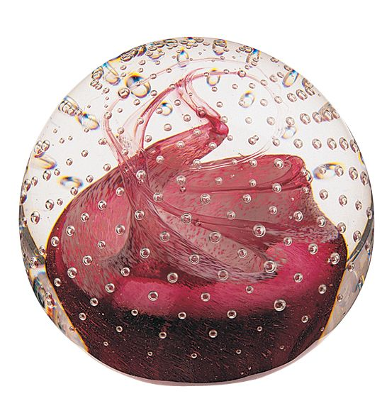 Glass cauldron paperweight - CLICK FOR MORE INFORMATION