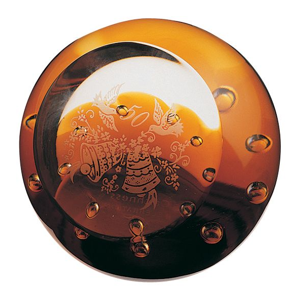 Glass celebration paperweight - CLICK FOR MORE INFORMATION