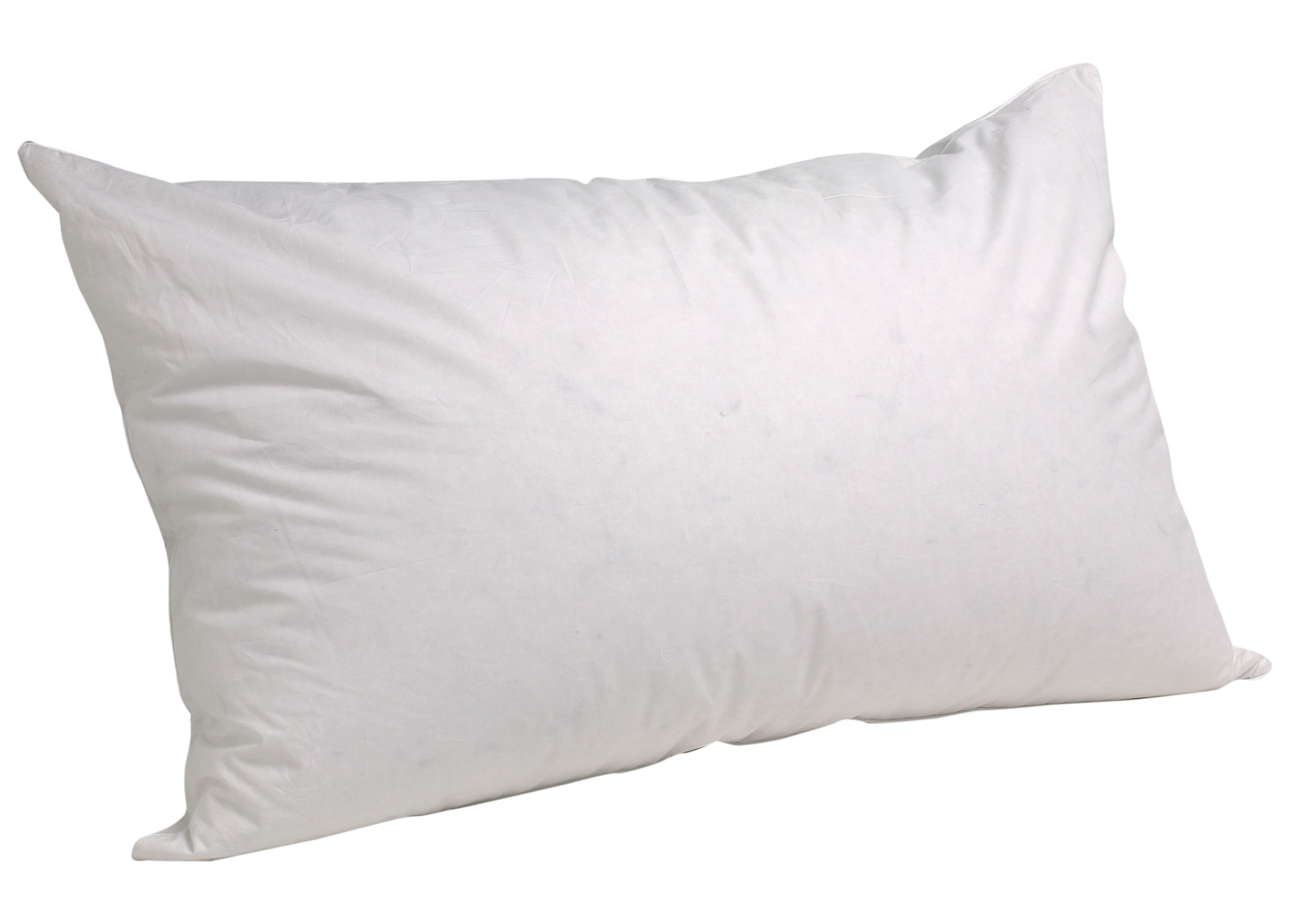 Organic duck down pillow