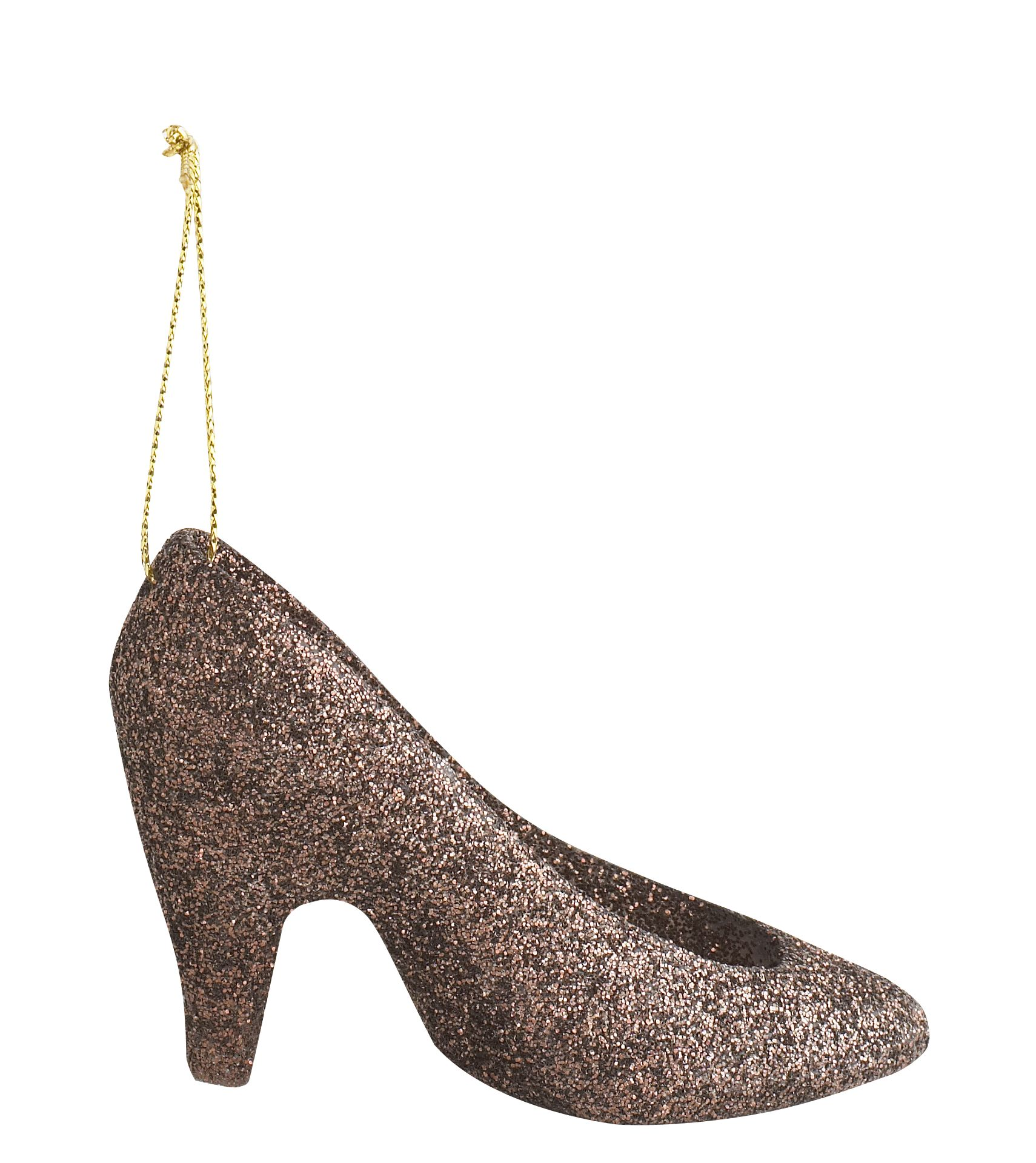 Glitter shoe tree decoration