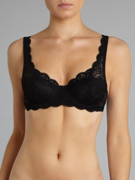 Amourette underwired padded bra