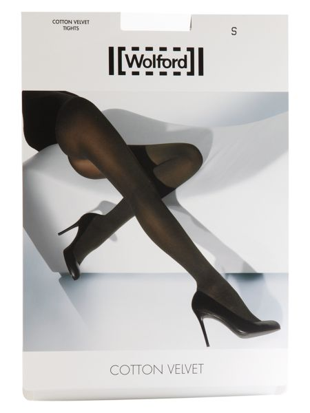 Wolford Cotton velvet opaque tights