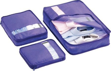 Go Travel Bag packers, assorted colours