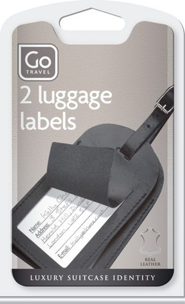 Leather Luggage Labels