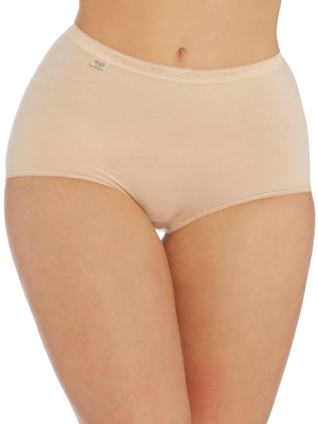 Sloggi 3 pack maxi briefs