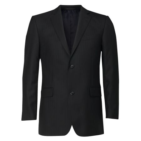Linea Formal single-breasted herringbone jacket
