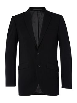 Ultra black suit jacket