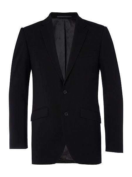 Kenneth Cole Ultra black suit jacket Black - House of Fraser