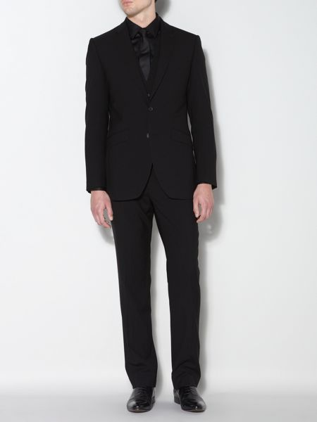 Kenneth Cole Ultra black suit jacket
