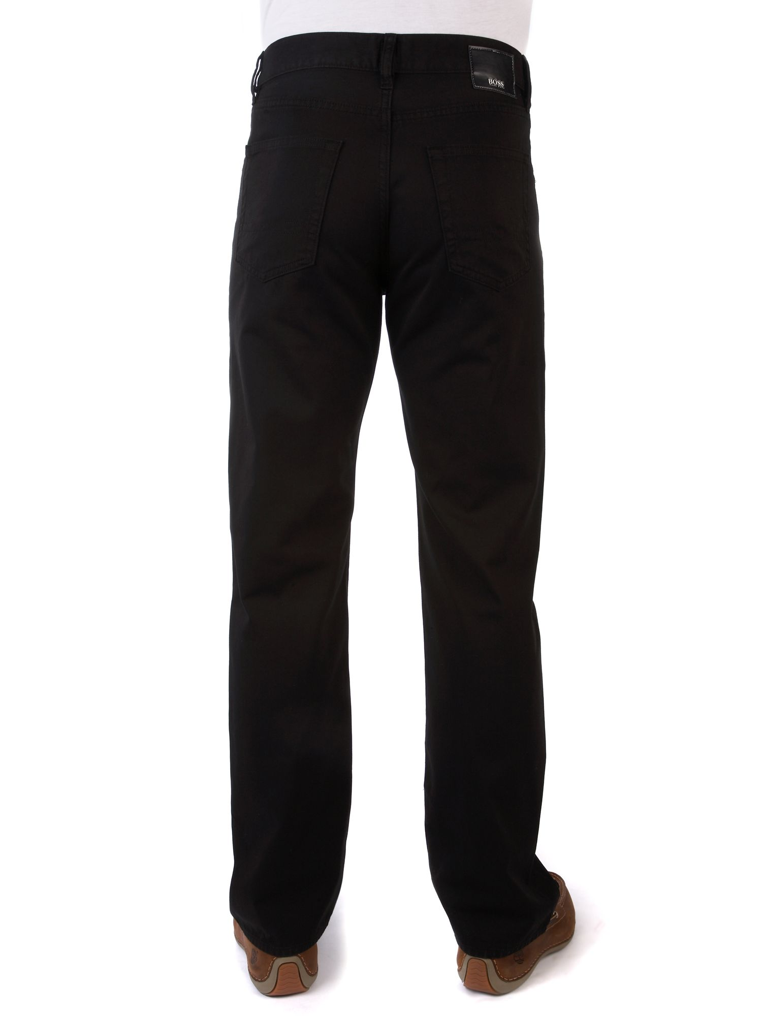Five pocket flat front trousers