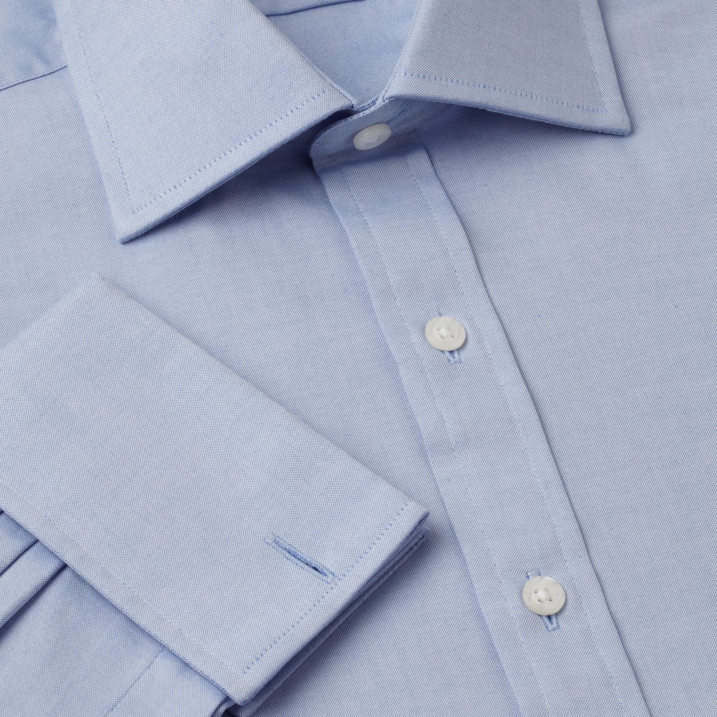 Pinpoint Oxford Prince of Wales shirt