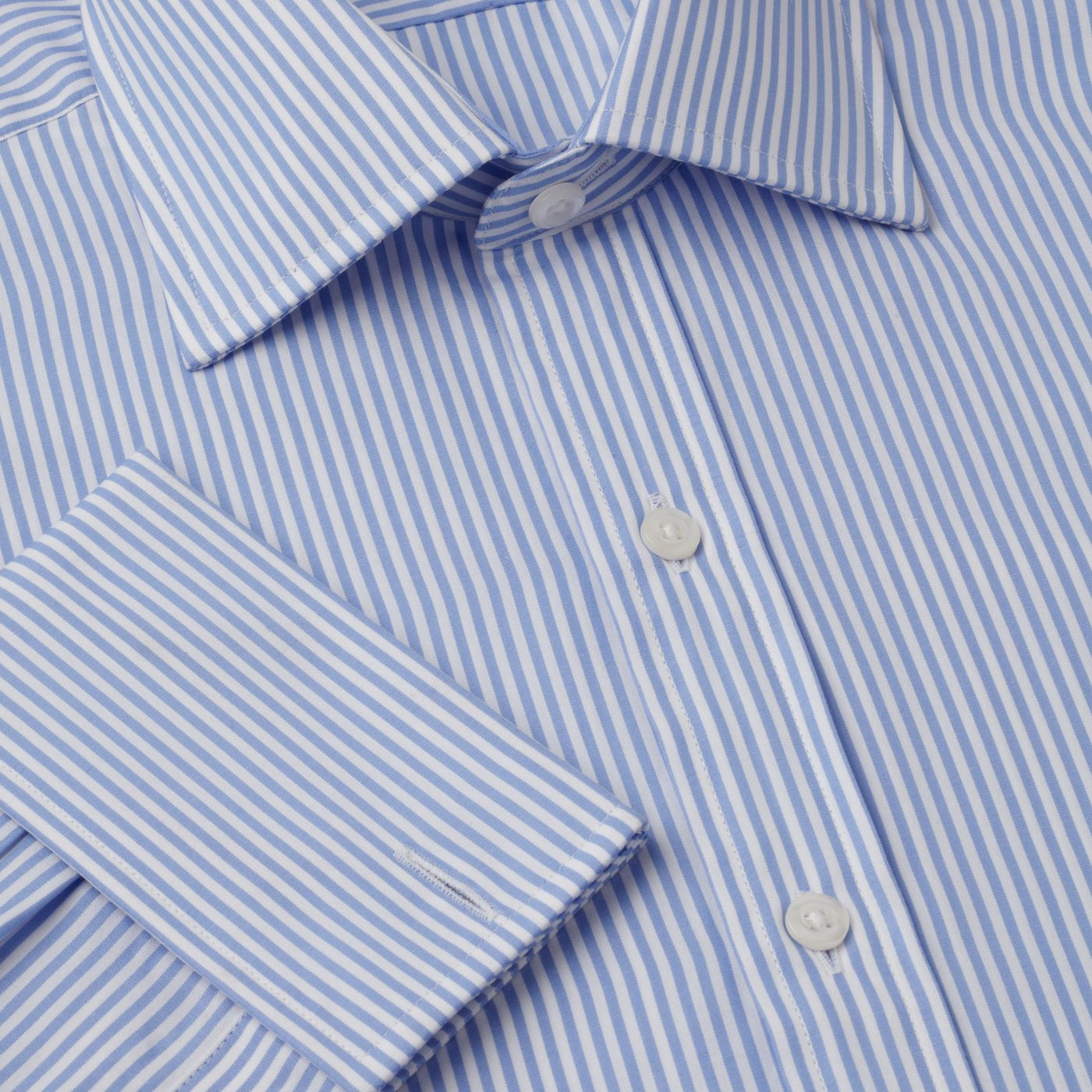 Bengal stripe Prince of Wales shirt