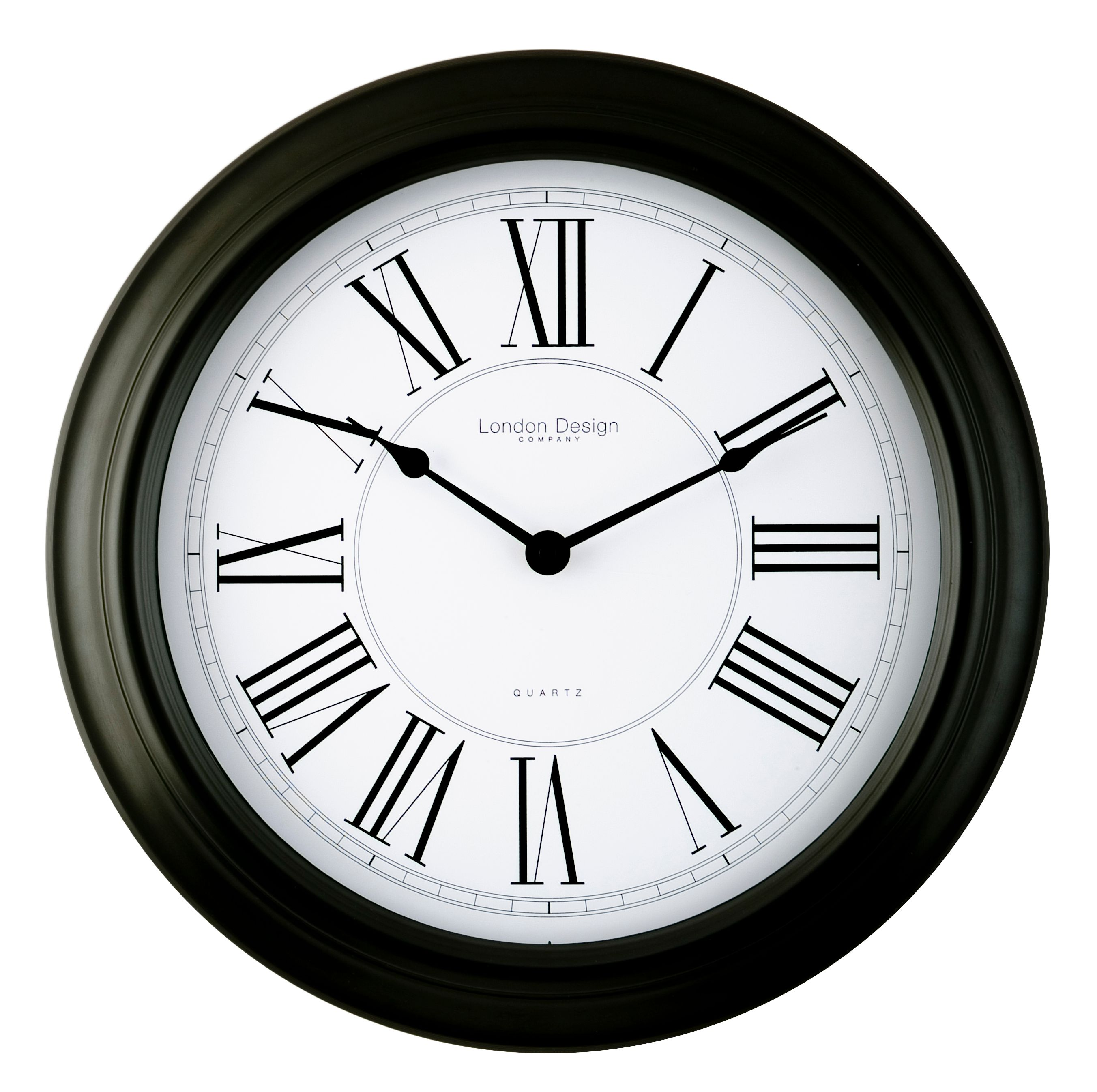 London Clock Round Quartz wall clock