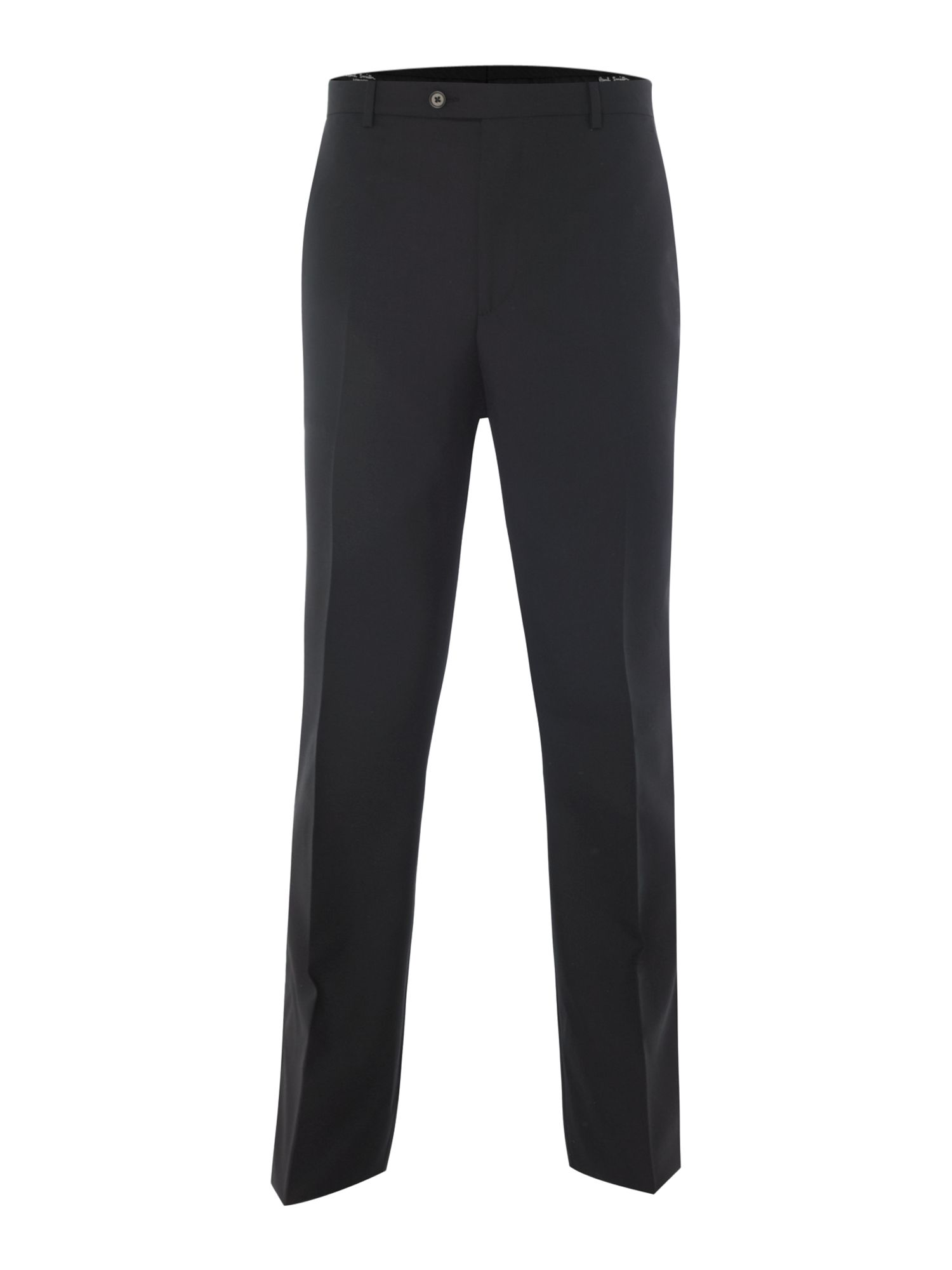 Willoughby regular fit plain wool suit trousers