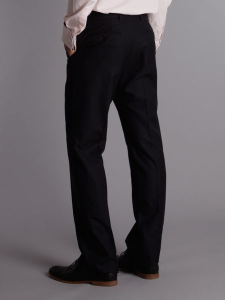 Paul Smith London Willoughby regular fit plain wool suit trousers