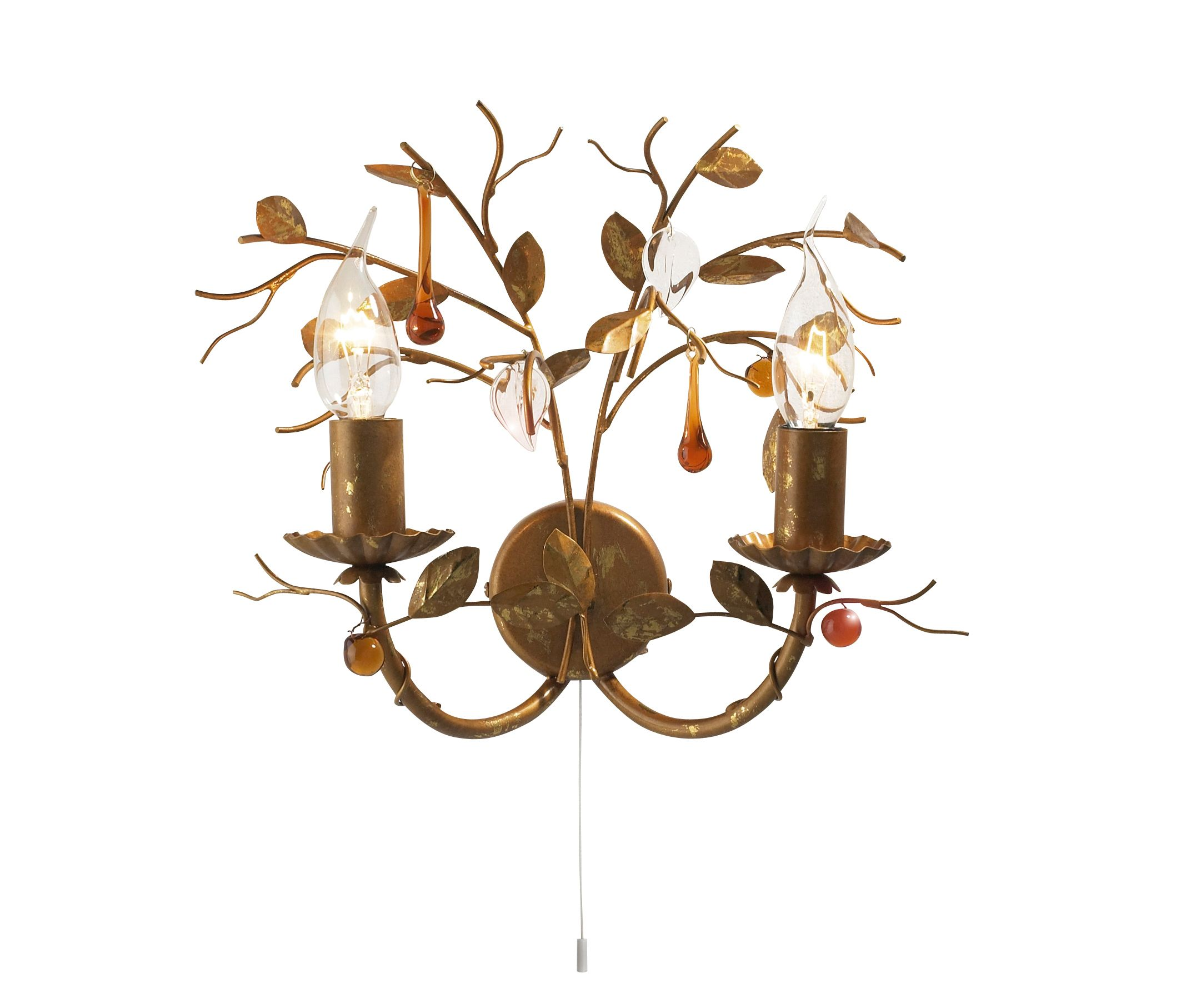 House of Fraser Autumn wall light - review, compare prices, buy online