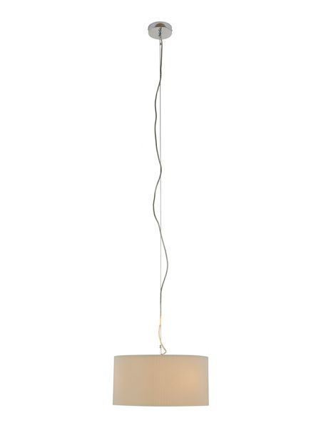 Linea Zaragoza medium cream ceiling pendant