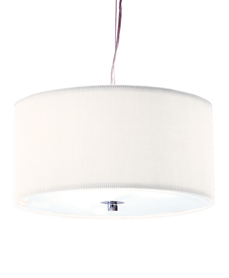 Zaragoza medium cream ceiling pendant by House of Fraser