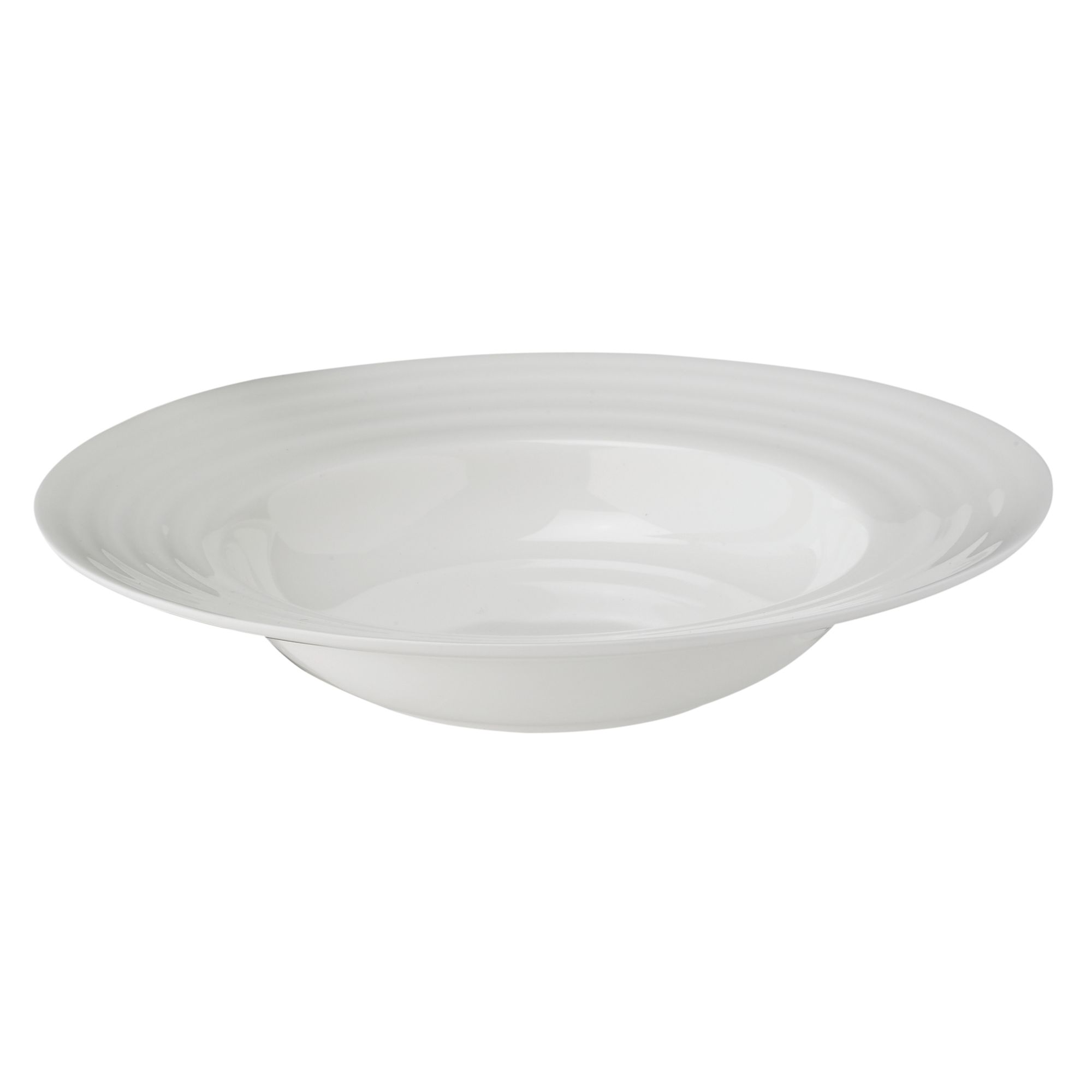 Soho Bone China Rim Soup Plate