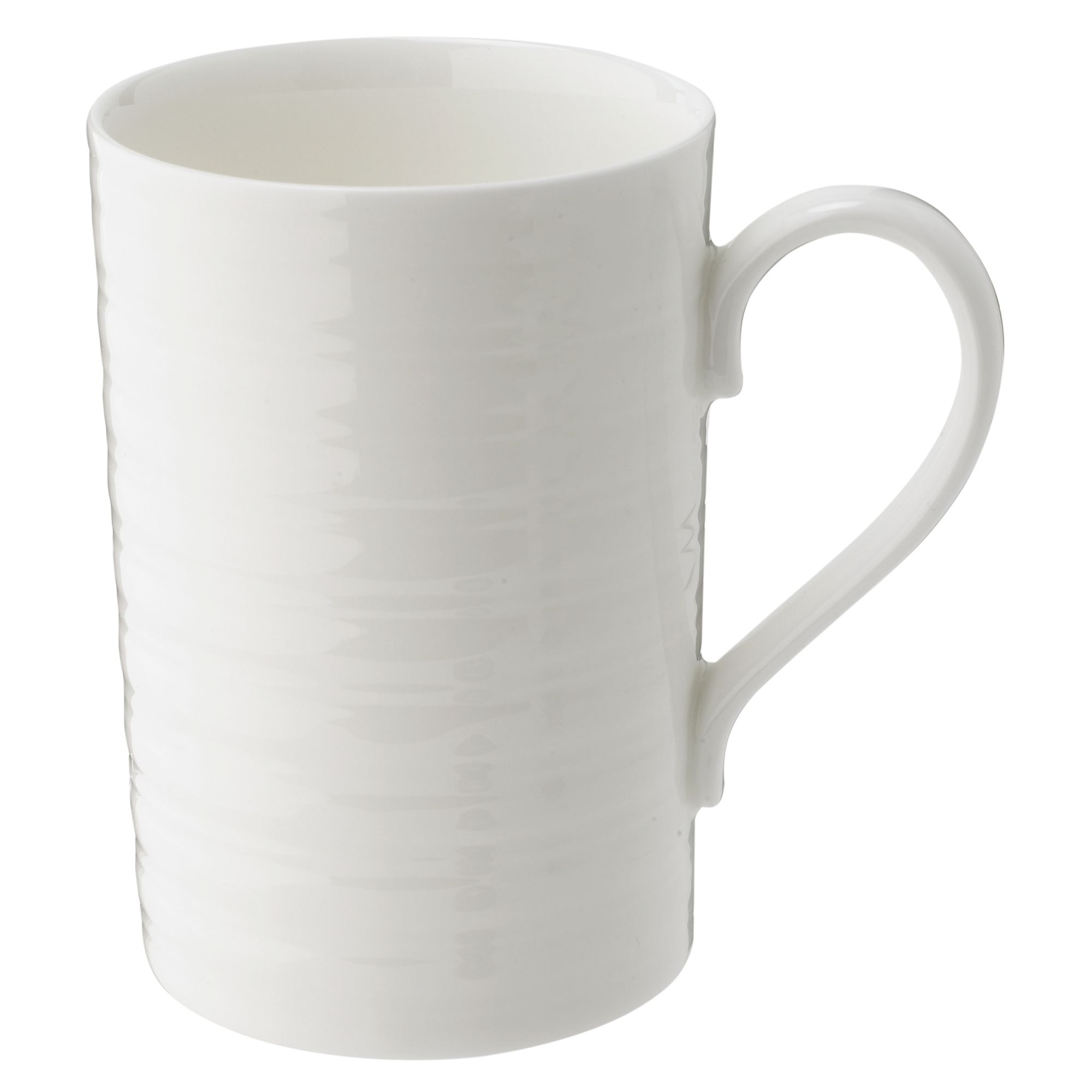 Soho Ridged Bone China Barrel Mug