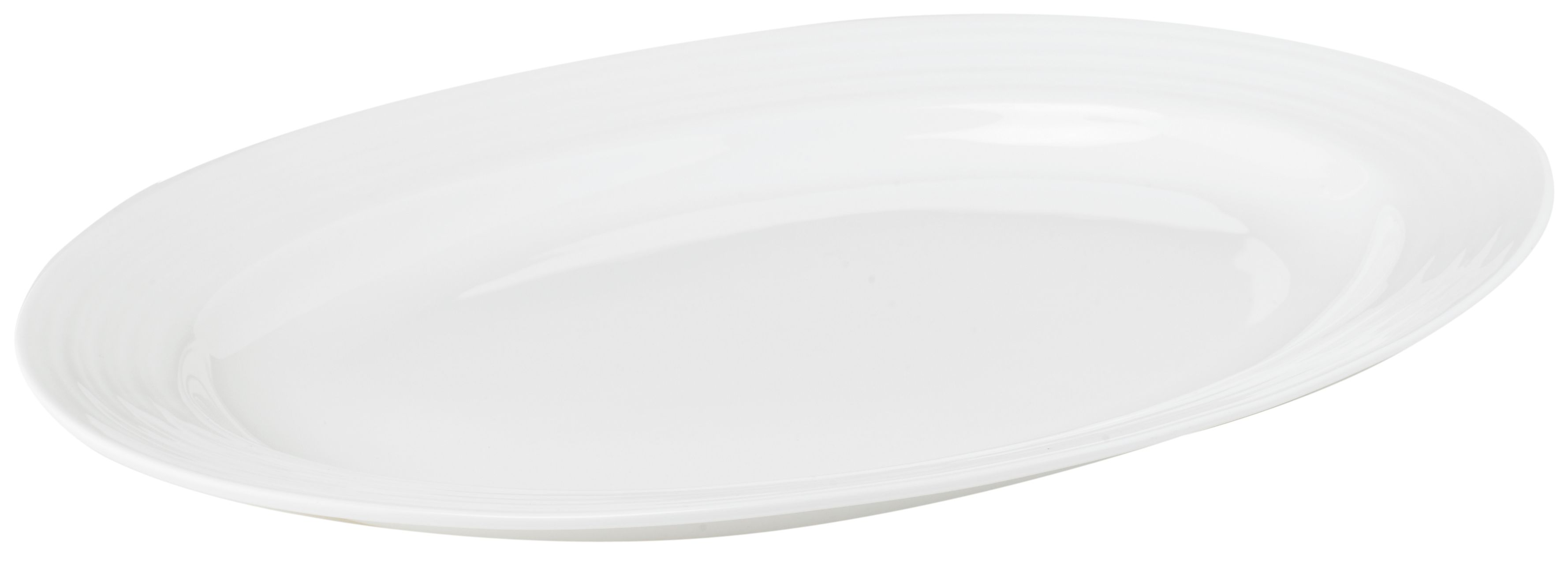 Soho bone china large oval platter