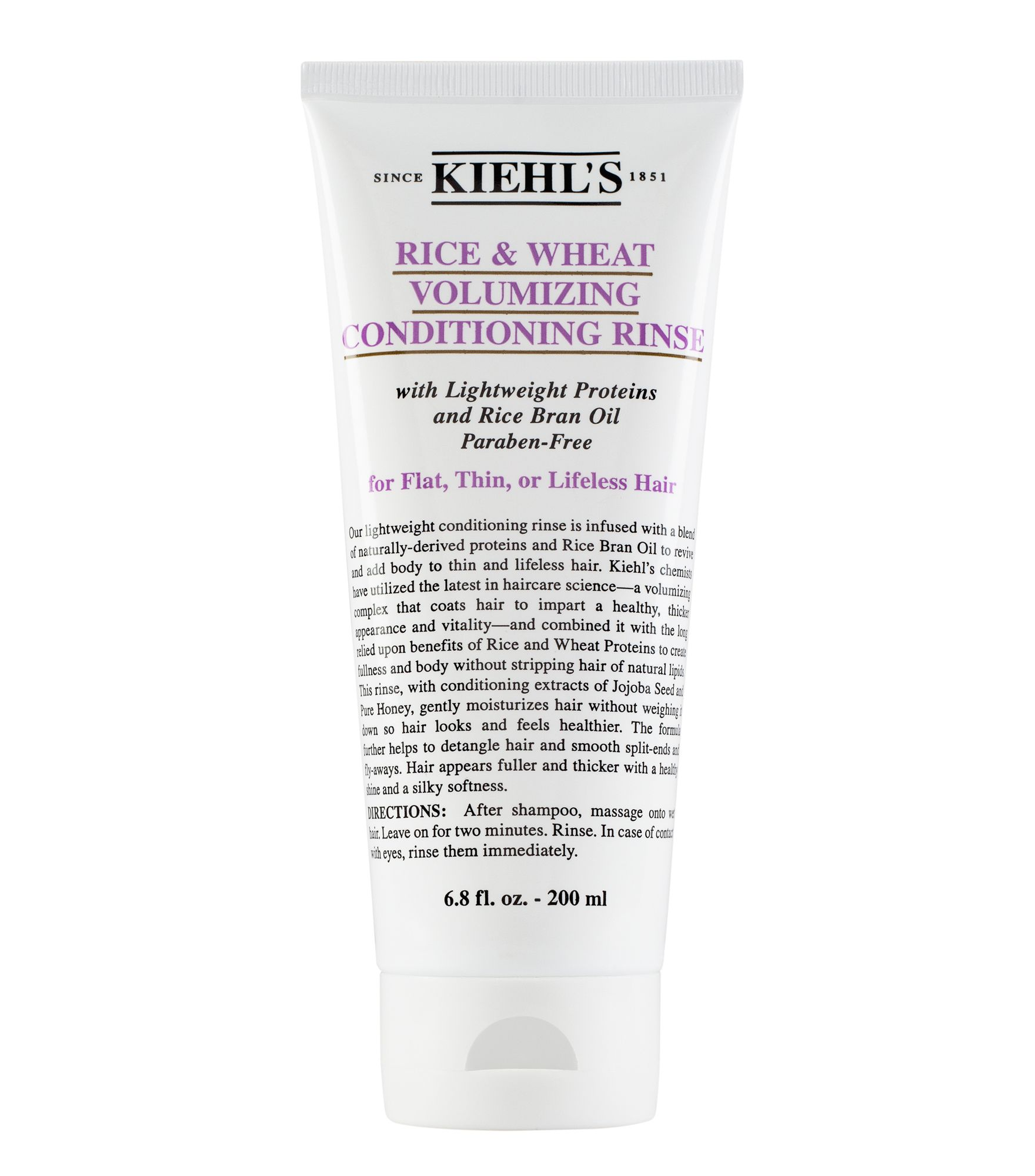 Kiehls Rice and Wheat Volumising Conditioner 200ml