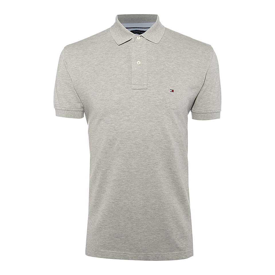 Tommy Hilfiger Core knitted T shirt Grey