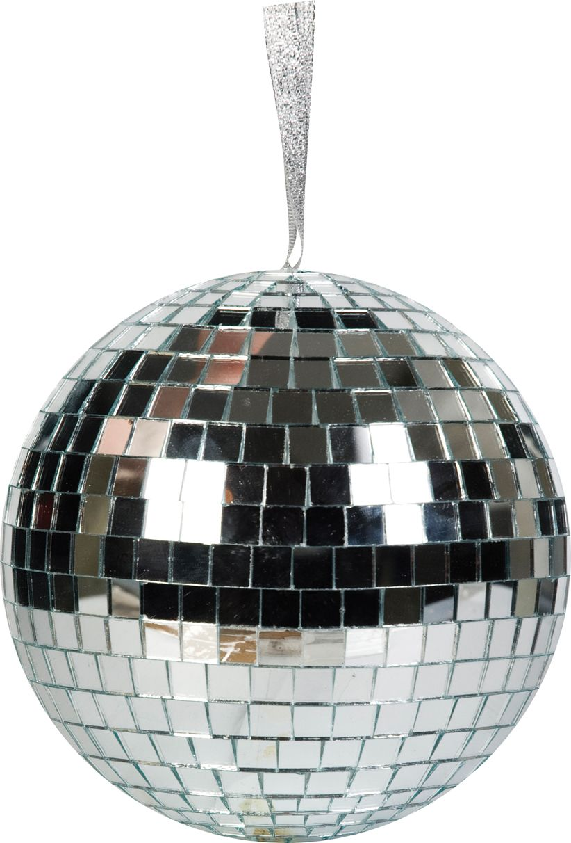 Linea Kraft large silver disco ball