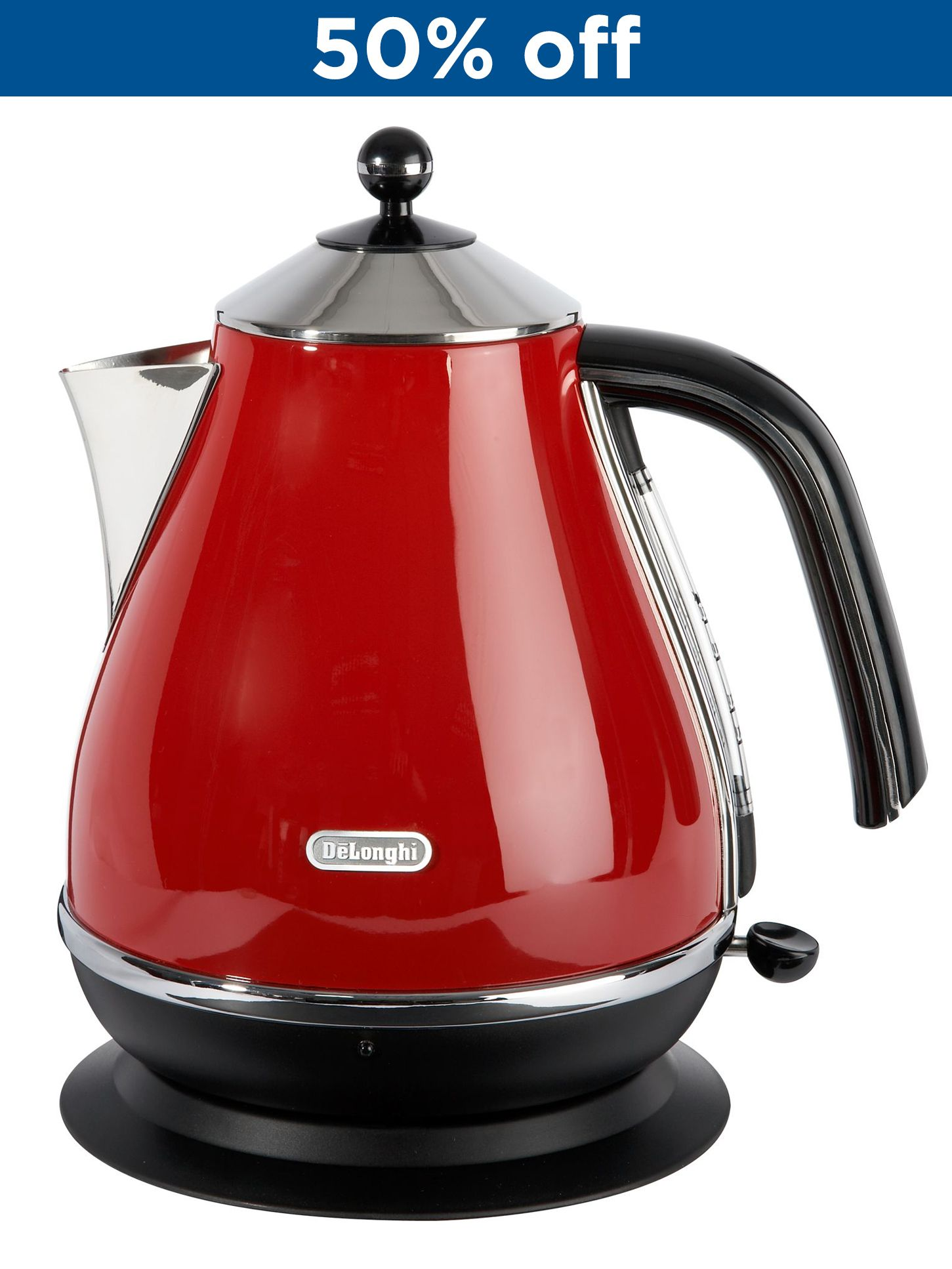 KBO3001 Red Icona Kettle