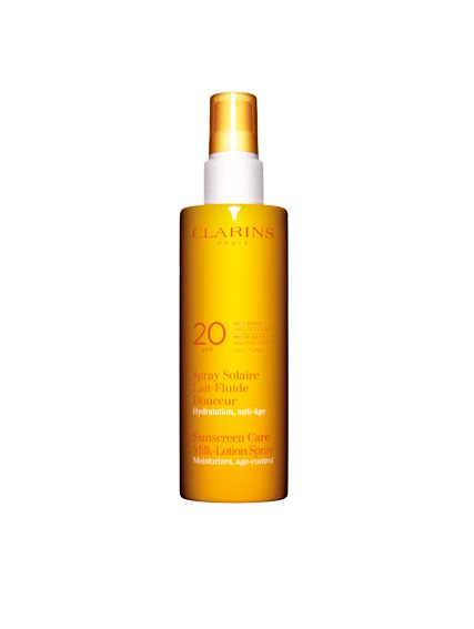 Clarins Sun Care Milk Lotion Moderate Protection UVB20