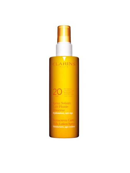 Clarins Sun Care Milk Lotion -Moderate Protection UVB20