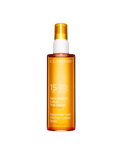 Clarins Sun Care Spray Oil Free Lotion UVB15