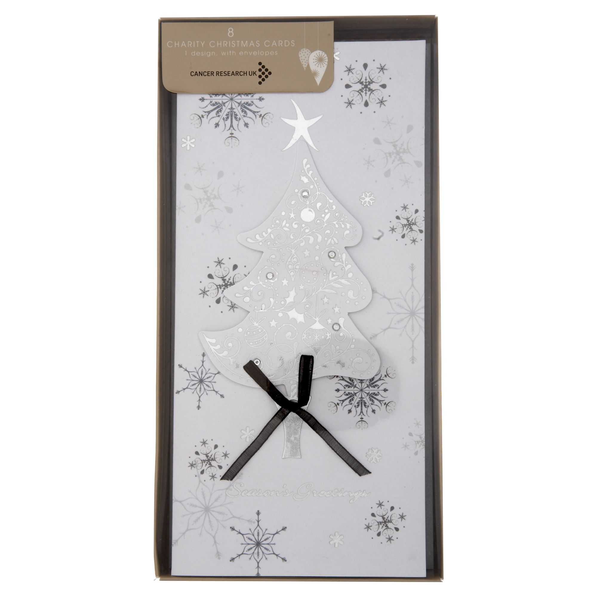 House of Fraser Tree handfinished Christmas cards