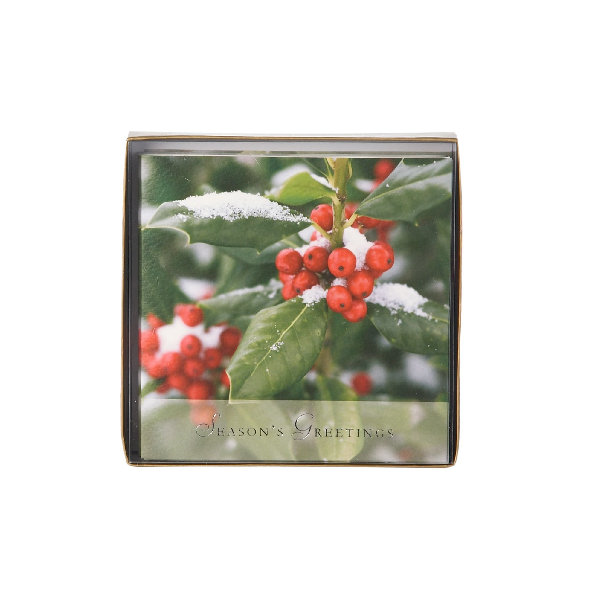 Ling Photographic holly Christmas cards