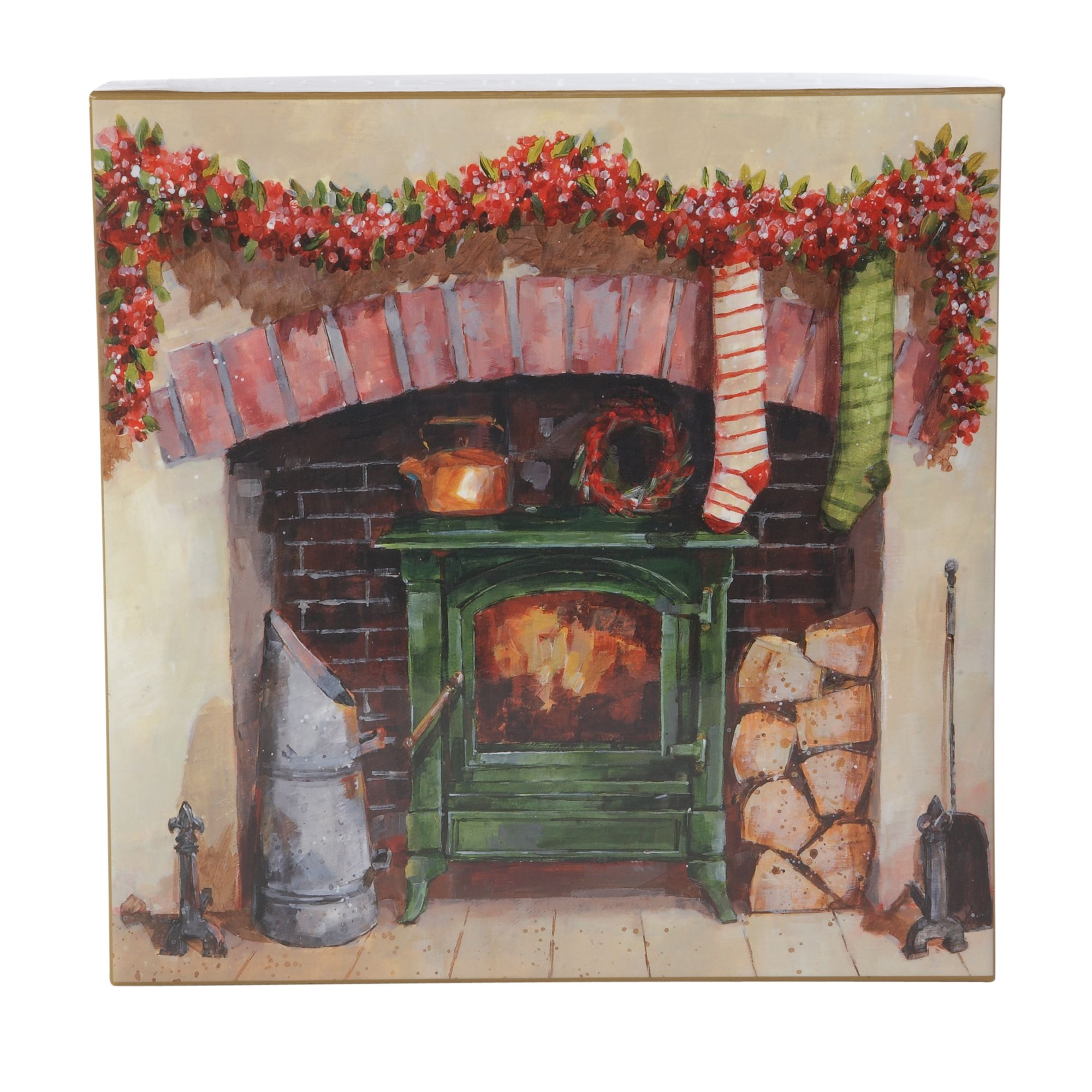 Ling Deluxe box a country Christmas cards