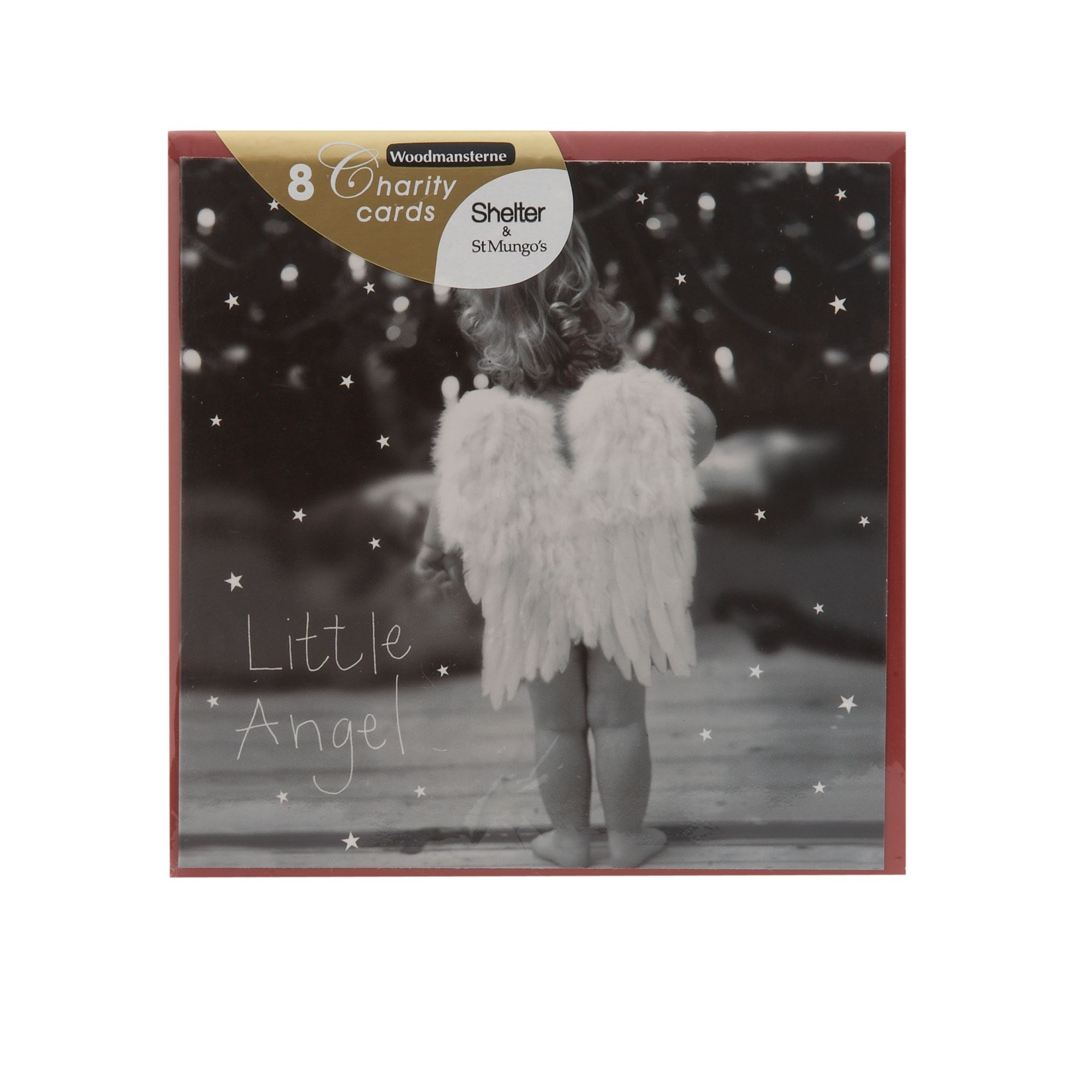 Woodmansterne Mini little angel Christmas cards