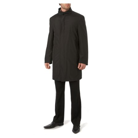 Bugatti Funnel neck overcoat