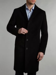 Epsom wool overcoat