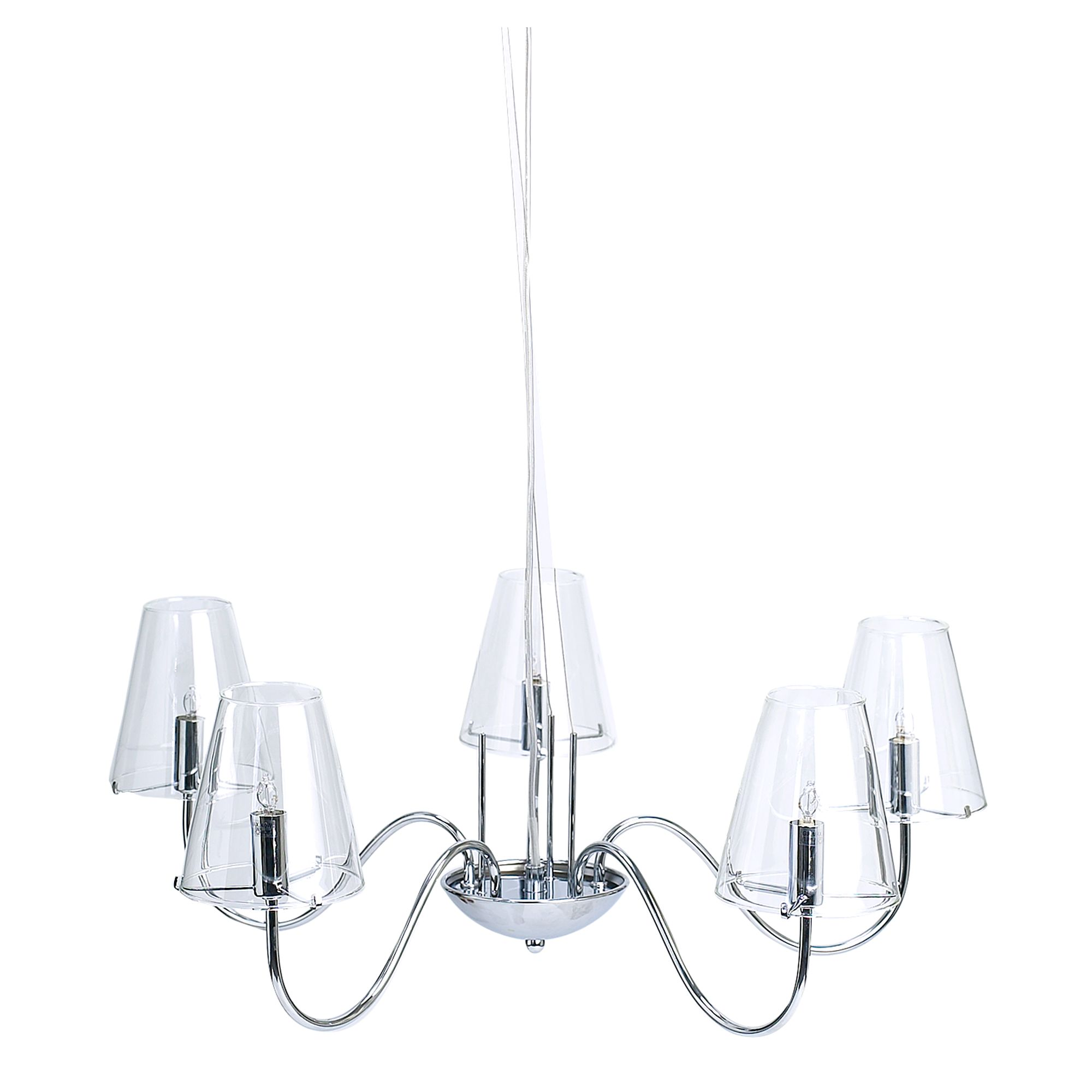 House of Fraser Jasmine 5 arm ceiling pendant